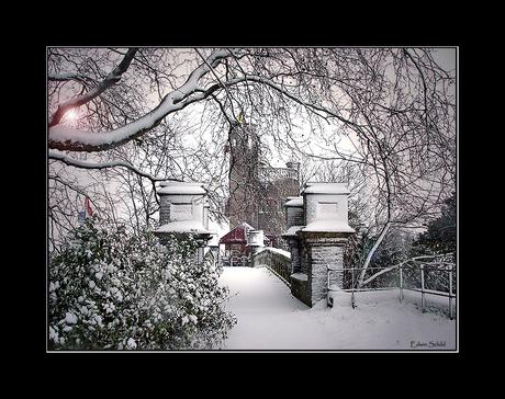 Eindelijk sneeuw....