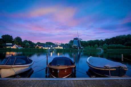 De Eenhorn en de drie Booten