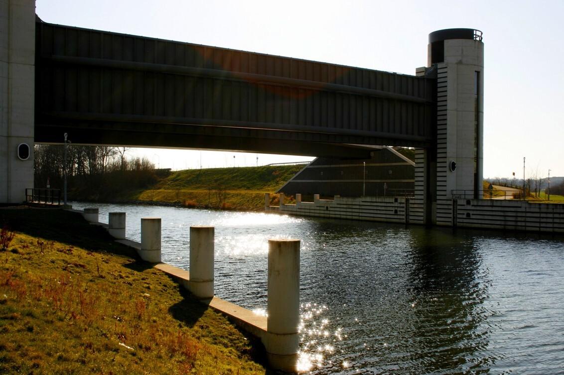 Nieuwe sluis bij Borharen - - - foto door Smeets op 06-03-2021