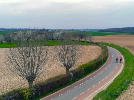 hoe sterk is de eenzame fietser