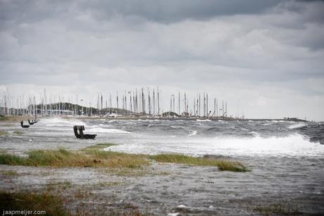 Overstromende Waddenzee