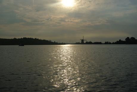 Zonlicht op water