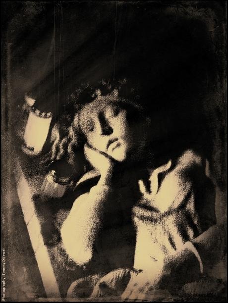 Der Geist eines Mädchens