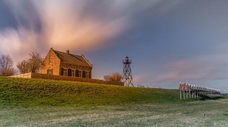 Werelderfgoed Schokland - Werelderfgoed Schokland, Noordoostpolder - foto door HMHoogebeen op 05-04-2019 - deze foto bevat: landschap, schokland, flevoland, noordoostpolder, langesluitertijd, werelderfgoed