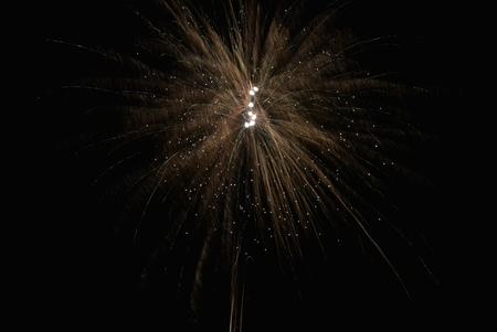 gelukkig nieuwjaar - - - foto door gerrieg1 op 02-01-2016 - deze foto bevat: nieuwjaar, vuurwerk, lange sluitertijd