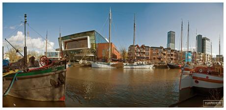 panorama haven westerkade Leeuwarden