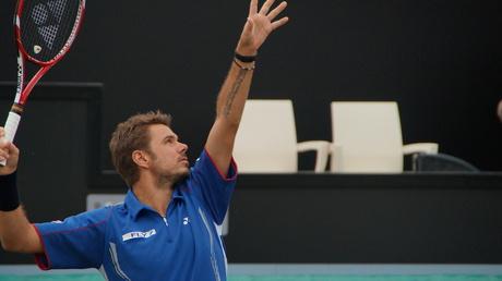Stanislas Wawrinka bij Topshelf Open (rosmalen)