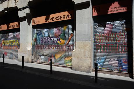 Barça graffiti.