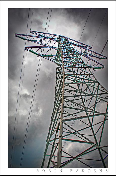Elektriciteitsmast HDR