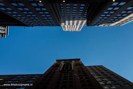 Financieel centrum in New York