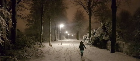 wintersfeer wandeling