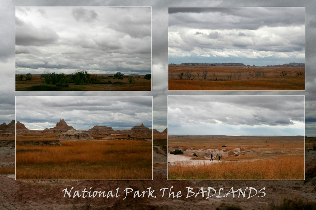 The Badlands - The Badlands is een nationaal park in South Dakota. Bijzonder om te zien. - foto door rietgb op 08-11-2009 - deze foto bevat: usa, badlands, natuurpark, south dakota