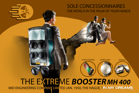 Booster Fifties Poster