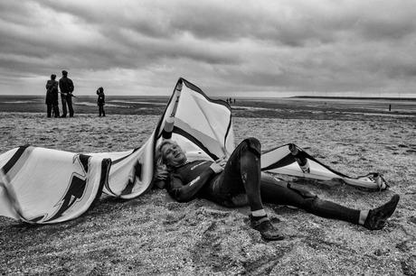 De Luie Kitesurfer