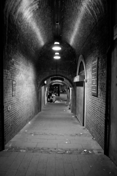 Stille steeg Londen