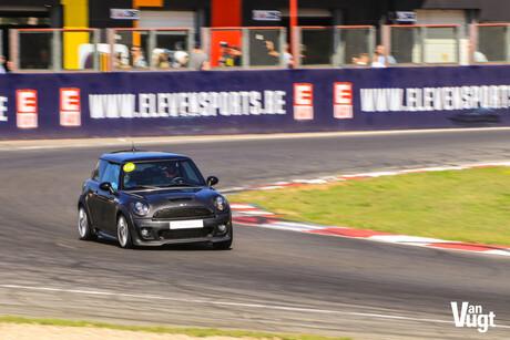 Mini Cooper op Circuit Zolder