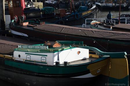 Alles heeft een tijd - - - foto door gwenvg1991 op 17-01-2015 - deze foto bevat: groen, water, rotterdam, natuur, boot, landschap, nederland, maritiem museum