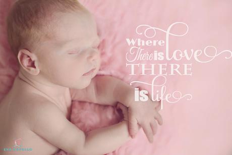 Newborn fotografie Eden Jill