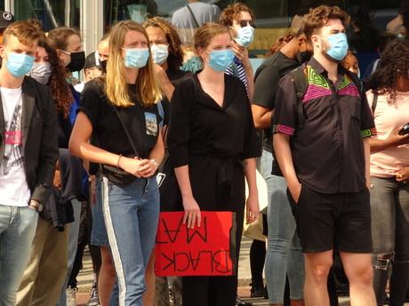 Demonstratie Rotterdam