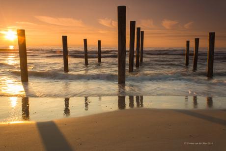 Zonsondergang bij Petten 3...