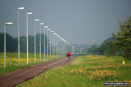 Tussen Amsterdam en Haarlem