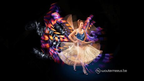 Couture Lumiére: Lightpainting Dress