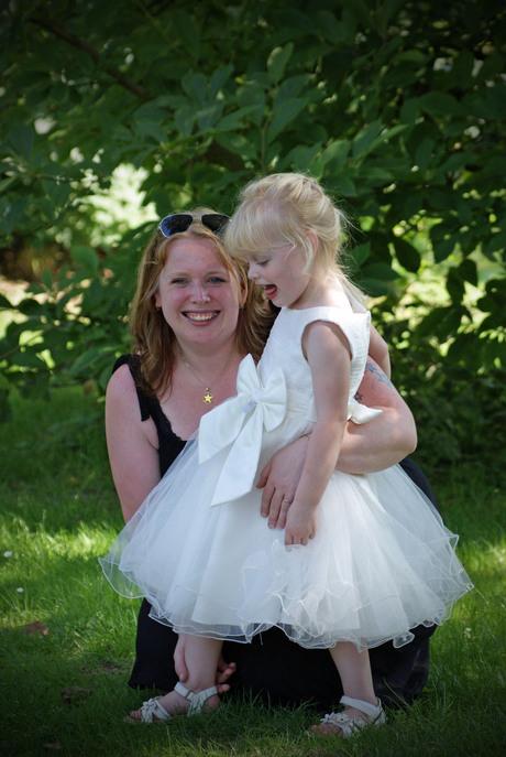Bruidsmeisje met mama