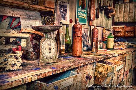 schilders werkplaats 2