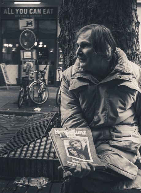People in Streets Hamburg