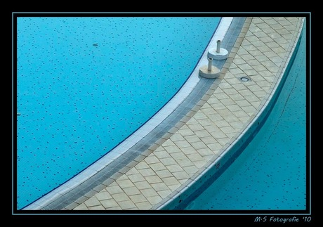 Twisting by the pool