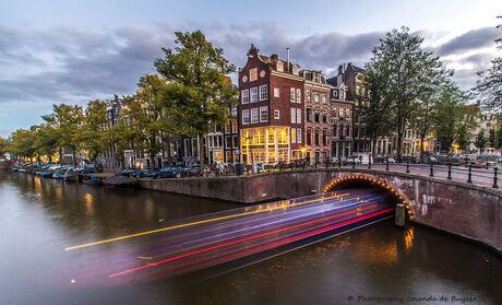 Tourboat lights