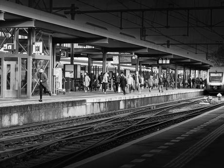 Haast op station Zutphen