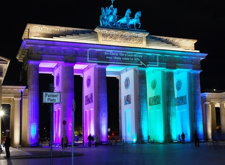 Berlijn - Festival of Lights - Brandenburger Tor 3