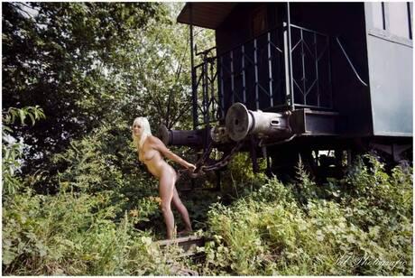 Pulling the train