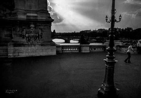 Parijs vanuit touringcar