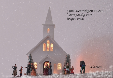 Kerstgroet voor iedereen