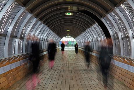 Ghost in Media tunnel hilversum