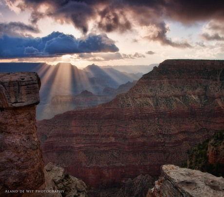 Sunrise Mather Point Grand Canyon