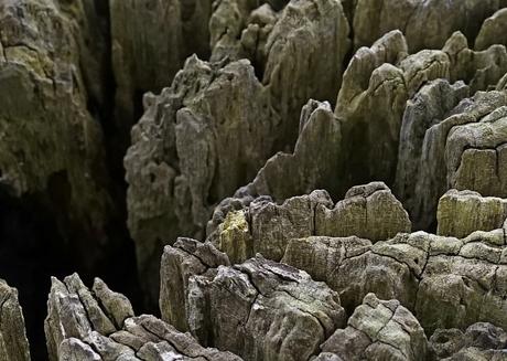 Verweerde rotsen