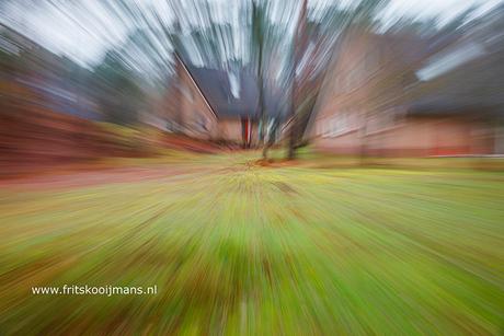 Draaien met de lens tijdens foto maken