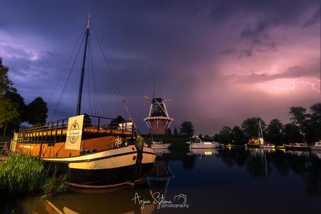 Onweer boven Dokkum!