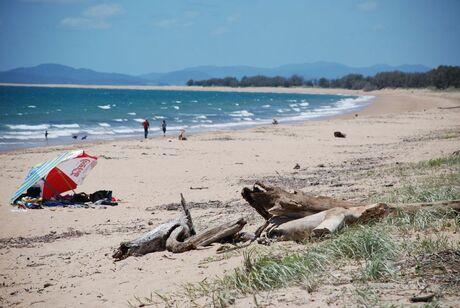 At the beach, McKay, Australia