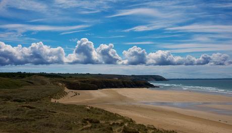 Wolken boven Plage de la Palud - Presq'île de Crozon - Bretagne