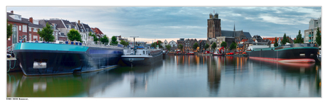 Dordrecht-harbour-pano