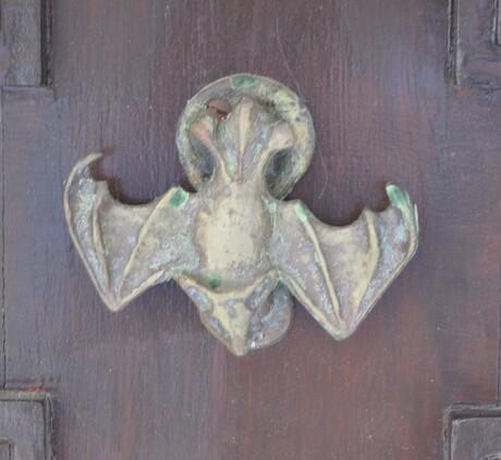 """deurklopper """"de vleermuis"""""""