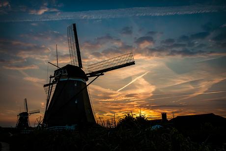 De molens van Molenviergang (Zevenhuizen)