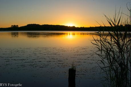 zonsondergang Dobbeplas