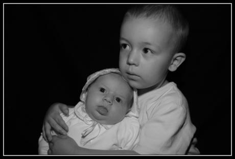 Broer en zusje