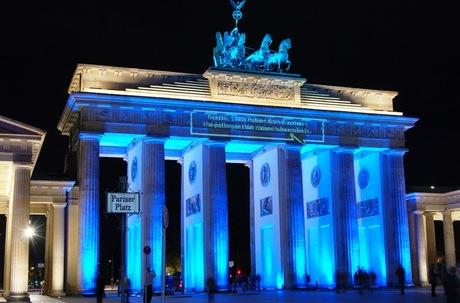 Berlijn - Festival of Lights - Brandenburger Tor 4
