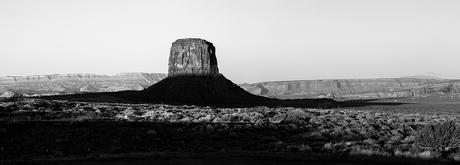 Schaduwwerking bij Monument Valley